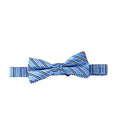 Statements Boys' Striped Bow Tie