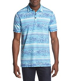 Paradise Collection® Men's Short Sleeve Printed Polo