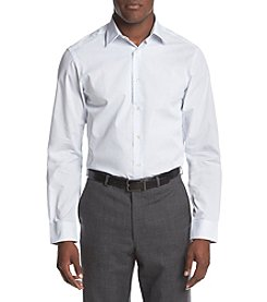 John Bartlett Statements Men's Striped Slim Fit Dress Shirt