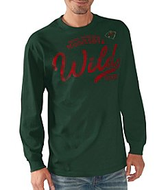 G III NHL® Minnesota Wild Men's Playbook II Long Sleeve Tee