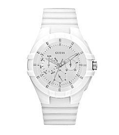 GUESS Women's Silicone Sport Watch