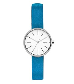 Skagen Women's Signature Leather Watch