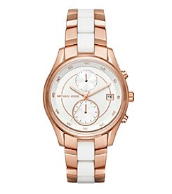 Michael Kors® Briar Rose Goldtone Multifunction Watch