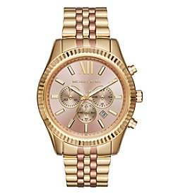 Michael Kors® Lexington Two-Tone Chronograph Watch