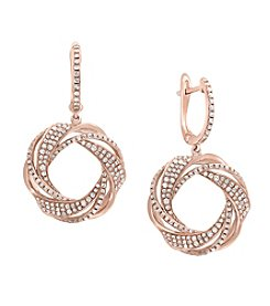 Effy® 14K Rose Gold  1.0 ct. t.w. Diamond Earrings