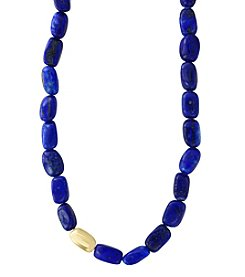 Effy® 14K Yellow Gold Lapis Bead  Necklace