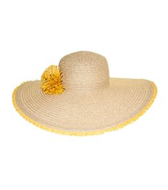Nine West® Fringe Edge Super Floppy Hat