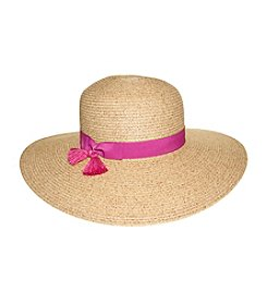 Nine West®  Packable Floppy Hat With Tassle
