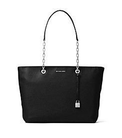 MICHAEL Michael Kors KORS STUDIO Mercer Medium Chain-Link Leather Tote