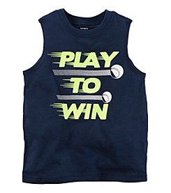 Carter's Boys' 2T-6 Play To Win Graphic Muscle Tee