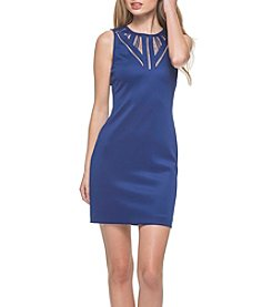 GUESS Mesh Cut-Out Dress