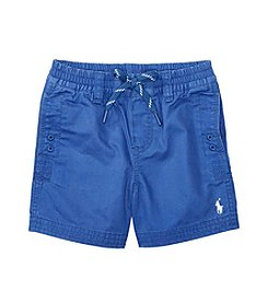 Ralph Lauren® Baby Boys Relaxed Twill Shorts