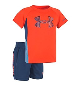 Under Armour® Baby Girls' Midtown Grid Sportster Set