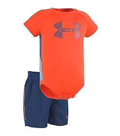 Under Armour® Baby Boys Midtown Grid Sportster Set