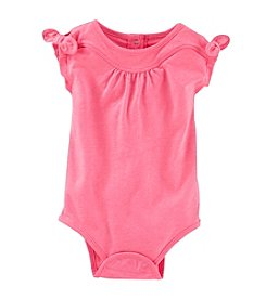 OshKosh B'Gosh® Baby Girls' Tie Shoulder Bodysuit