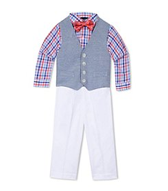 Nautica® Baby Boys' Pique Knit Vest Set
