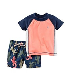 Carter's® Baby Boys' Lizard Swim Set