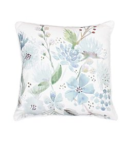Kandie Watercolor Floral Decorative Pillow