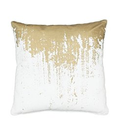 Reginald  Metallic Decorative Pillow
