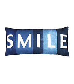 Smile Printed Decorative Pillow