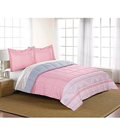 Living Quarters Gigi Reversible Microfiber Down Alternative Comforter