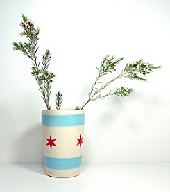 Circa Ceramics Chicago Flag Tumbler