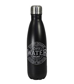 Transit Tees City of Chicago Water Bottle
