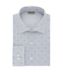 REACTION Kenneth Cole Men's Crystal Print Slim Fit Dress Shirt