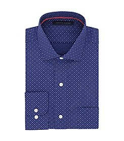 Tommy Hilfiger® Men's Dot Printed Regular Fit Dress Shirt
