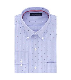 Tommy Hilfiger® Men's Stripe Dot Regular Fit Dress Shirt