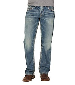 Silver Jeans Co. Men's Gordie Dark Wash Loose Fit Jeans