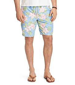 Polo Ralph Lauren® Men's Big & Tall Floral Traveler Swim Trunk