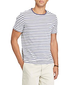 Polo Ralph Lauren® Men's Big & Tall Striped Cotton Pocket Tee