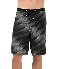 Speedo® Men's Crosswise Geo Board Shorts