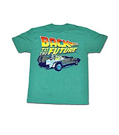 Men's Back To The Future Title Graphic Tee