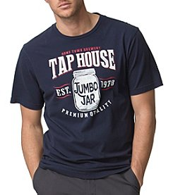 Chaps® Men's Big & Tall Cotton Jersey Home Town Brewery Graphic Tee