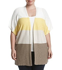 Jones New York® Plus Size Colorblocked Cardigan
