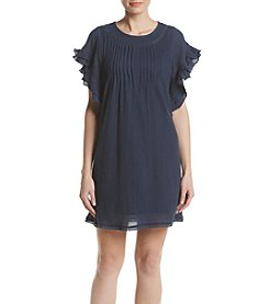 Max Studio Edit™ Gauze Pleated Dress
