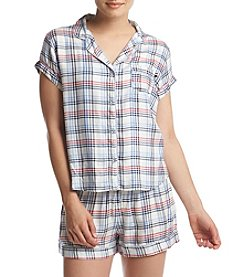 Tommy Hilfiger® Plaid Pajama Top