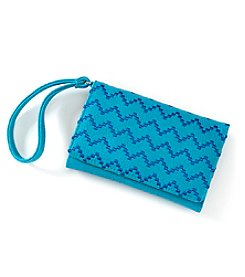 Relativity Chevron Bifold Cell Phone Wristlet
