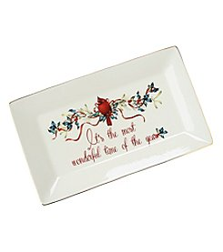 Lenox® Winter Greetings Sentiments Platter