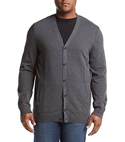 Nautica® Men's Big & Tall Jersey Cardigan