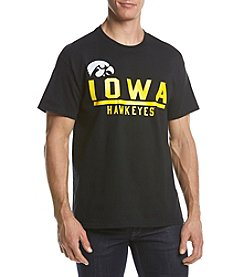 G III NCAA® Iowa Hawkeyes Men's Overtime Short Sleeve Shirt
