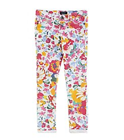 Squeeze® Girls' 7-16 Floral Jeans