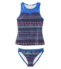 Jessica Simpson 2-Piece Tankini Set
