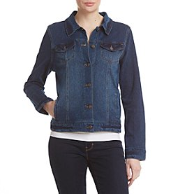 Bandolino® Sarah Knit Denim Jacket