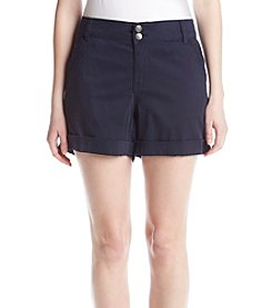 One 5 One® Double Button Cuff Shorts