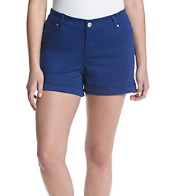 Celebrity Pink Plus Size Roll Cuff Shorts