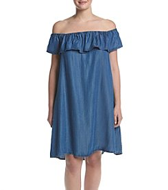 Skylar & Jade™ Plus Size Off-Shoulder Dress