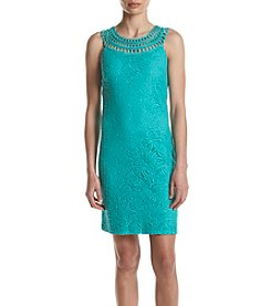 Jessica Howard® Crochet Lace Shift Dress